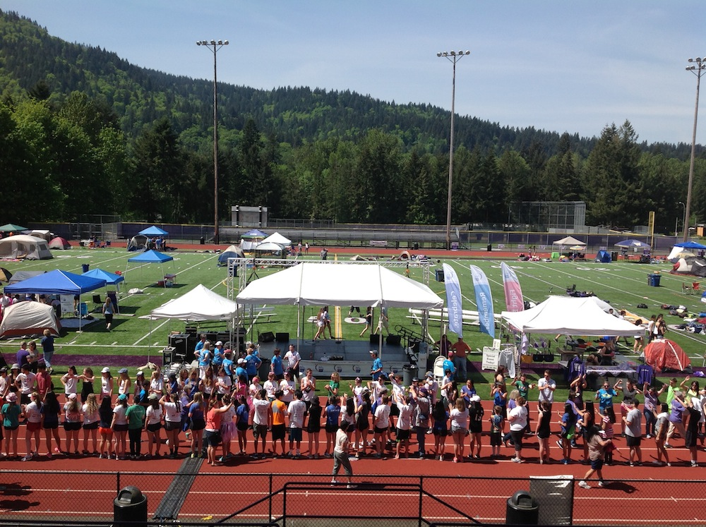 2015 Issaquah Relay for Life at Issaquah High School