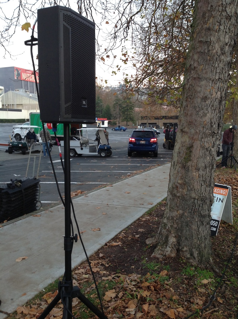 JBL STX812M Speakers deployed at the 2015 Amica Seattle Marathon