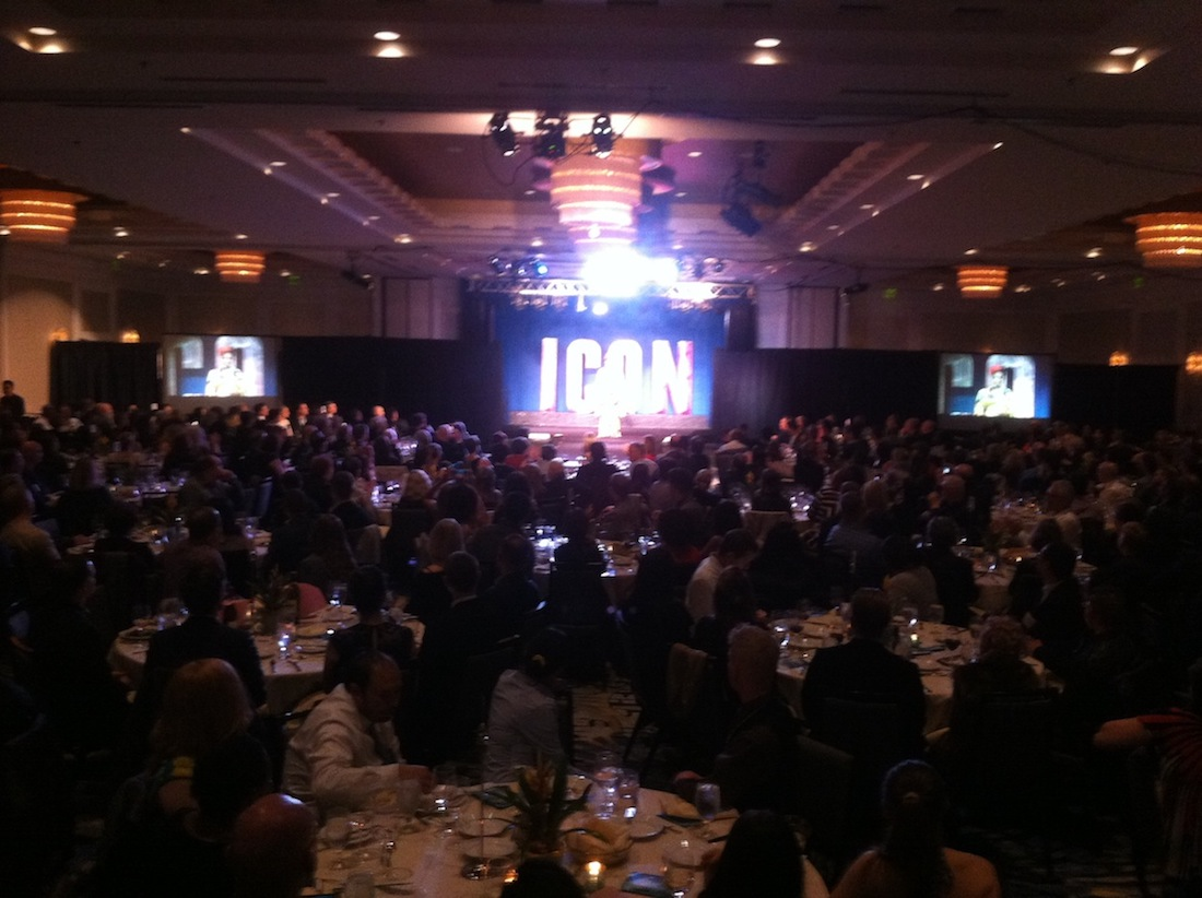 Audio, Lighting and Video Production Services for the Seattle Counseling Service's annual ICON Fundraising Gala