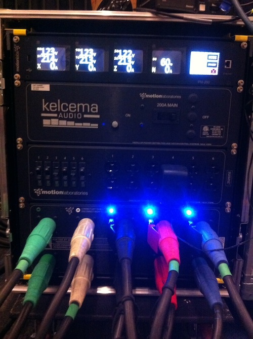 Kelcema Audio's new Motion Labs Power Distro at Further Confusion 2017