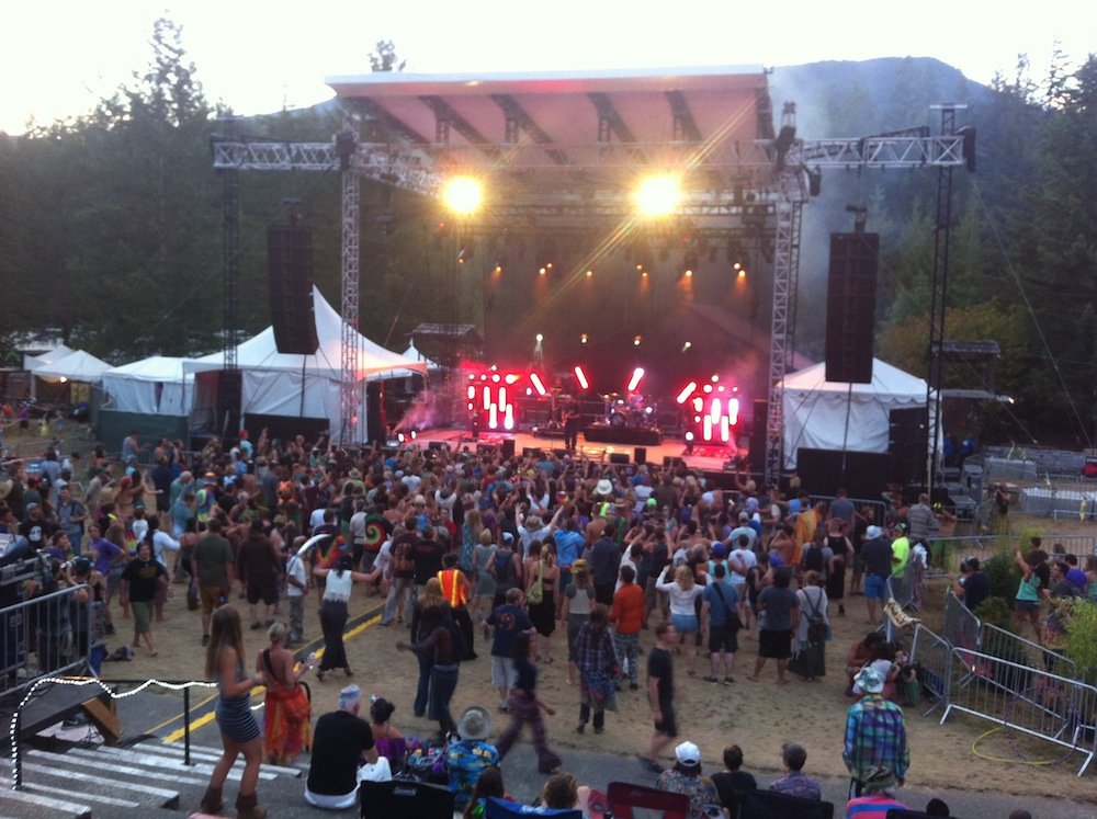 JBL VerTec at the 2015 Summer Meltdown Festival